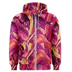 Abstract Acryl Art Men s Zipper Hoodie