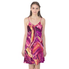 Abstract Acryl Art Camis Nightgown