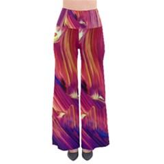 Abstract Acryl Art Pants