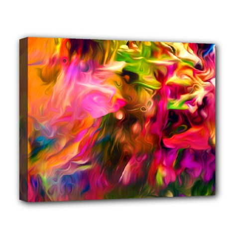 Abstract Acryl Art Deluxe Canvas 20  X 16