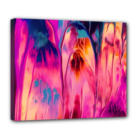 Abstract Acryl Art Deluxe Canvas 24  X 20