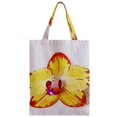 Phalaenopsis Yellow Flower, Floral Oil Painting Art Classic Tote Bag