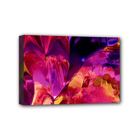 Abstract Acryl Art Mini Canvas 6  X 4