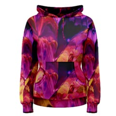 Abstract Acryl Art Women s Pullover Hoodie