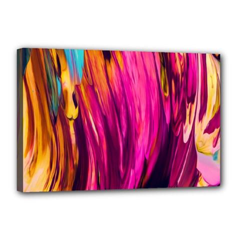 Abstract Acryl Art Canvas 18  X 12