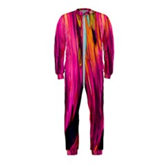 Abstract Acryl Art Onepiece Jumpsuit (kids)