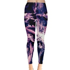 Abstract Acryl Art Leggings