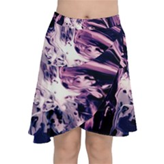Abstract Acryl Art Chiffon Wrap