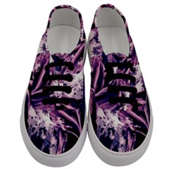 Abstract Acryl Art Men s Classic Low Top Sneakers