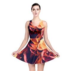 Abstract Acryl Art Reversible Skater Dress