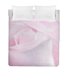 Rose Pink Flower, Floral Aquarel   Watercolor Painting Art Duvet Cover Double Side (full/ Double Size)