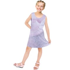 Rose Pink Flower  Floral Pencil Drawing Art Kids  Tunic Dress
