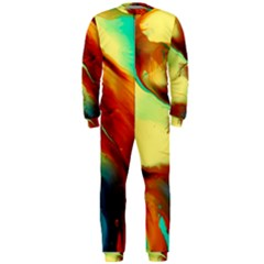 Abstract Acryl Art Onepiece Jumpsuit (men)