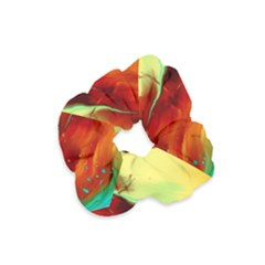Abstract Acryl Art Velvet Scrunchie