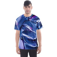 Abstract Acryl Art Men s Sports Mesh Tee