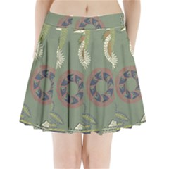 Artnouveau18 Pleated Mini Skirt