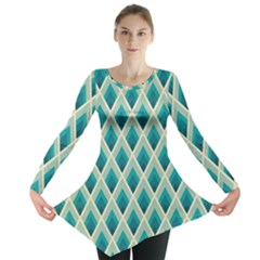 Artdecoteal Long Sleeve Tunic