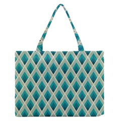 Artdecoteal Zipper Medium Tote Bag