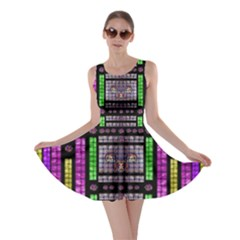 This Is A Cartoon Circle Mouse Skater Dress