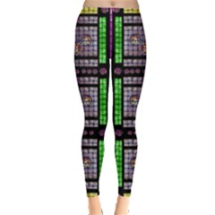 This Is A Cartoon Circle Mouse Leggings