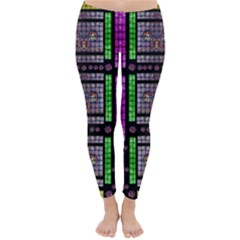 This Is A Cartoon Circle Mouse Classic Winter Leggings