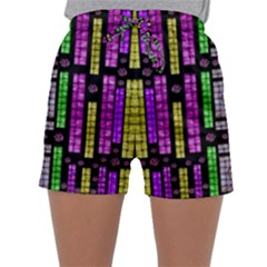 This Is A Cartoon Circle Mouse Sleepwear Shorts