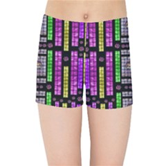 This Is A Cartoon Circle Mouse Kids Sports Shorts