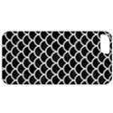 SCALES1 BLACK MARBLE & WHITE LINEN (R) Apple iPhone 5 Classic Hardshell Case View1