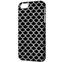 SCALES1 BLACK MARBLE & WHITE LINEN (R) Apple iPhone 5 Classic Hardshell Case View3