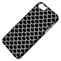 SCALES1 BLACK MARBLE & WHITE LINEN (R) Apple iPhone 5 Classic Hardshell Case View4