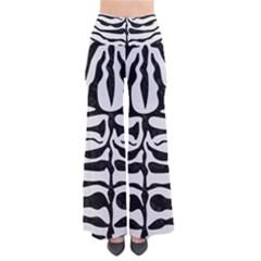 Skin2 Black Marble & White Linen Pants