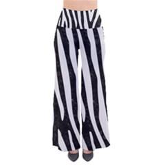 Skin4 Black Marble & White Linen Pants