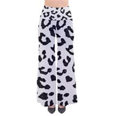 Skin5 Black Marble & White Linen (r) Pants