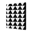 TRIANGLE2 BLACK MARBLE & WHITE LINEN Apple iPad Pro 10.5   Hardshell Case View3