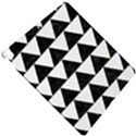 TRIANGLE2 BLACK MARBLE & WHITE LINEN Apple iPad Pro 10.5   Hardshell Case View4
