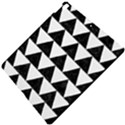 TRIANGLE2 BLACK MARBLE & WHITE LINEN Apple iPad Pro 10.5   Hardshell Case View5