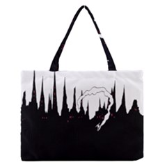 City History Speedrunning Zipper Medium Tote Bag