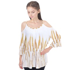 Wheat Plants Flutter Tees