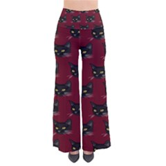 Face Cat Animals Red Pants