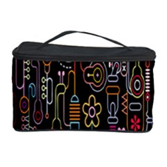 Features Illustration Cosmetic Storage Case