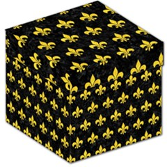 Royal1 Black Marble & Yellow Colored Pencil Storage Stool 12