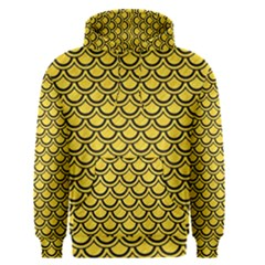 Scales2 Black Marble & Yellow Colored Pencil Men s Pullover Hoodie