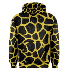 Skin1 Black Marble & Yellow Colored Pencil Men s Pullover Hoodie