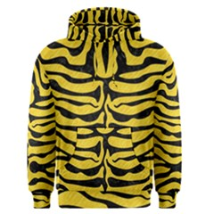 Skin2 Black Marble & Yellow Colored Pencil Men s Pullover Hoodie