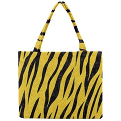 Skin3 Black Marble & Yellow Colored Pencil Mini Tote Bag