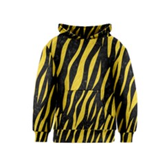 Skin3 Black Marble & Yellow Colored Pencil (r) Kids  Pullover Hoodie