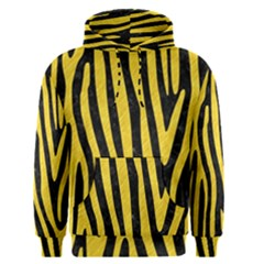 Skin4 Black Marble & Yellow Colored Pencil Men s Pullover Hoodie