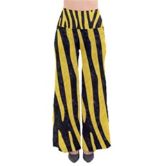 Skin4 Black Marble & Yellow Colored Pencil Pants