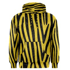 Skin4 Black Marble & Yellow Colored Pencil (r) Men s Pullover Hoodie