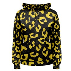 Skin5 Black Marble & Yellow Colored Pencil Women s Pullover Hoodie